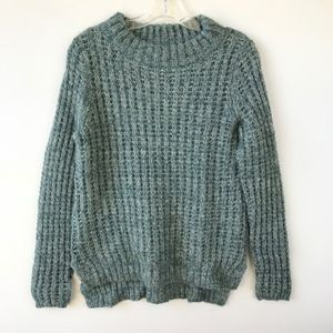 Field Flower Anthropologie Mock Knit Sweater #371